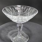 Signed Lenox hand cut compote 24% lead Crystal