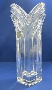 Mikasa glass vase arctic 24% lead crystal