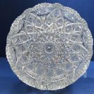American Brilliant Period Cut Glass  ABP  Antique  expanding star bowl