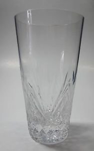 Hand Cut  tall juice glass