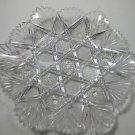 American Brilliant Period hand Cut Glass Gothic pattern Glark 1888 patented