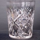 American Brilliant Period Cut Glass whiskey  tumbler, 10 in stock