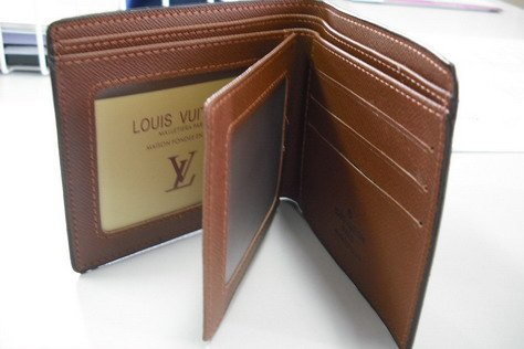 Louis Vuitton Wallet For Men's with 2 ID window in box