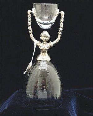 Crystal and Pewter German Bridal Wedding Cup