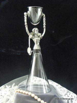 Fluted Crystal Renaissance German Bridal Wedding Cup
