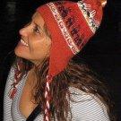 Original peruvian chullo, hat knitted of Alpacawool