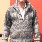 Peruvian alpacawool man jacket.Outerwear