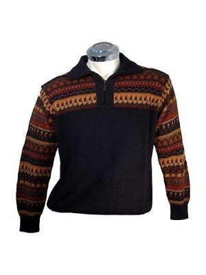Men Sweater, pure Alpacawool, v neck sweaters