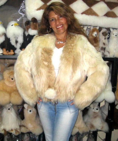 Fur Jacket, Babyalpaca pelt, outerwear coat