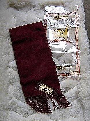 Burgundy alpaca wool lighter scarf,neck scarf, unisex