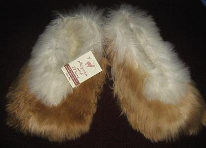 Babyalpca Fur, Slippers, house shoe, bed shoe