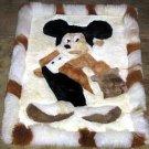 Disney Alpaca fur Rug, Mickey Mouse, 30x24 Inches
