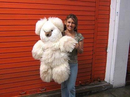 Teddy bear, plush toy of pure Alpaca fur, 31.5 inches