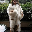 Babyalpaca pelt long coat, fur outerwear, in all sizes