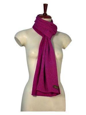 Casual crocheted scarf, shawl in Babyalpaca wool