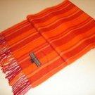 Orange scarf,shawl made with Babyalpaca wool,wrap