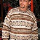 Sweater for men,round neck, pure Alpaca wool jumper