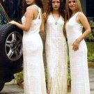 White long Dress, Ñusta ,100%ekologic Pima Cotton