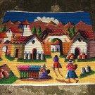 Hand woven Peruvian motive wall cloth/rug