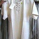White shirt from Ñusta ,100% ekological Pima Cotton