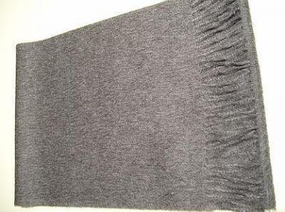 Grey scarf, shawl made with pure Babyalpaca wool