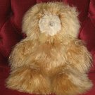 Cosy Teddy bear, unique Suri Alpaca fur in Peru 40 cms.
