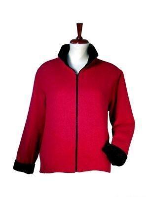 Elegant turn around Jacket, pure Alpaca wool