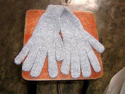 Grey Alpaca wool gloves,very soft mittens