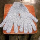 Grey Alpaca wool gloves,very soft mittens
