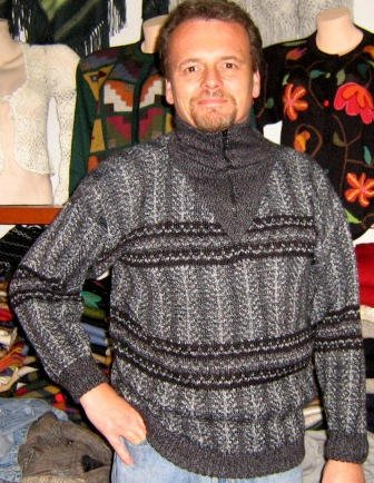 Turtleneck, warm sweater, pure Alpaca wool