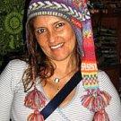 Multicolour peruvian chullo long tail hat, Alpacawool