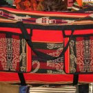 Sport Bag in a typical peruvian decor, 4 pockets