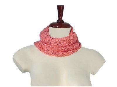 Pink neck scarf,neckerchief made of Babyalpaca wool