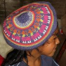 Colorful beret,had made of pure Alpacawool
