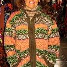Hooded jacked, made of Alpaca wool