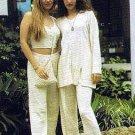 White shirt with pants, pure ekological Pima cotton