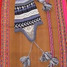 Peruvian Chullo, Hat with ear flaps, cap of Alpaca wool