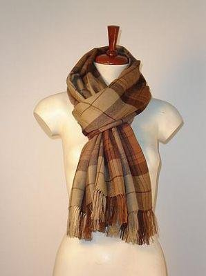 Brown scarf,shawl made of pure Babyalpaca wool,wrap