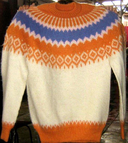 Turtleneck sweater made of Alpacawool