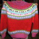 Soft Crew neck sweater for kids, made of Alpaca wool