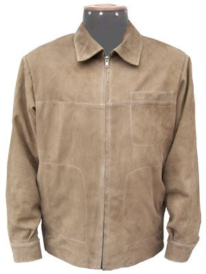 Genuine suede lamb nappa leather jacket,outerwear