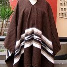 Original Poncho directly from the Andean of Peru  Standart Size