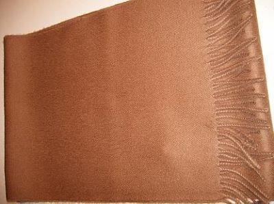 Brown scarf,shawl made of pure Babyalpaca wool