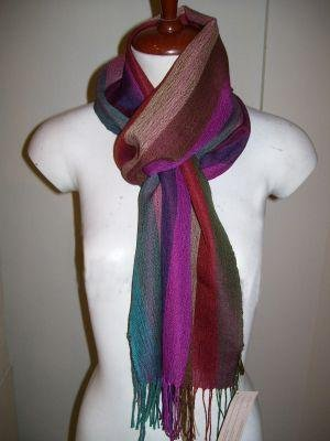 Light Scarf, shawl made of babyalpaca wool and silk