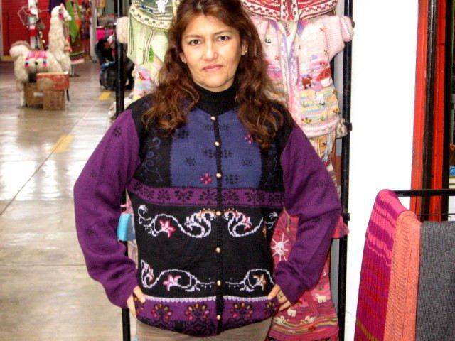 Embroidered cardigan,Jumper, Jacket, Alpaca wool