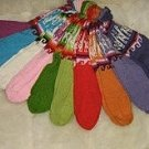 Bundle of 12 pairs socks made of alpaca wool,wholesale