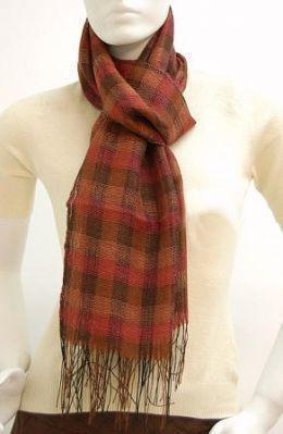 Silk scarf,shawl made of Babyalpaca wool and Silk