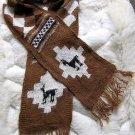 Peruvian scarf,shawl made of pure Alpacawool
