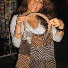 Handbag from Peru made of alpaca Wool