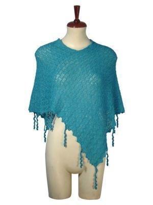 Weaved wrap,shawl made of Babyalpaca wool